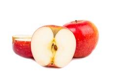 Manzanas rojas Fotografía de archivo libre de regalías