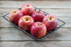 Manzanas rojas Foto de archivo libre de regalías