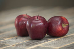 Manzanas rojas Imagen de archivo