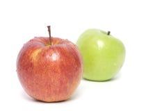 Manzanas rojas y verdes Fotografía de archivo libre de regalías