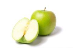 Manzanas verdes Imágenes de archivo libres de regalías