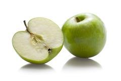 Manzanas verdes fotografía de archivo