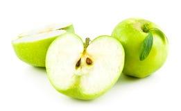 Manzanas verdes Foto de archivo