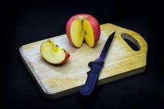 Manzanas y ciruelos imagenes de archivo