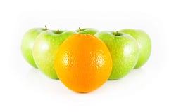Manzanas y naranjas Fotografía de archivo libre de regalías