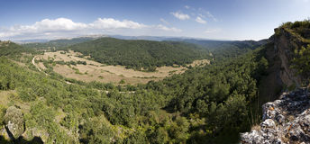 Manzanedo valley Royalty Free Stock Images