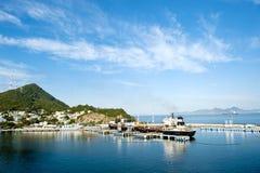manzanillo墨西哥端口 免版税库存照片