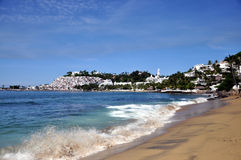Manzanillo Beach. Amazing view of the Las Hadas Resort at Manzanillo Mexico Stock Photos