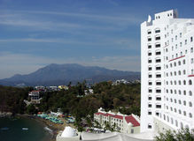 Manzanillo City Resort Royalty Free Stock Images