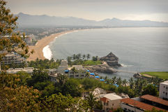 Manzanillo Mexico. Beautiful spacious view of Manzanillo Mexico Royalty Free Stock Photos