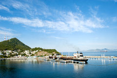 manzanillo mexico port Royaltyfri Foto