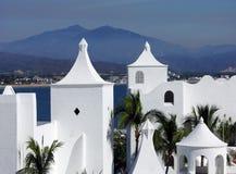 Manzanillo Resorts Royalty Free Stock Images
