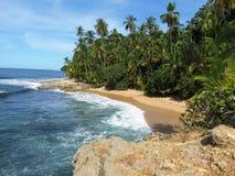 Manzanillo strand royaltyfri fotografi