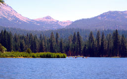 manzanita озера стоковые фотографии rf