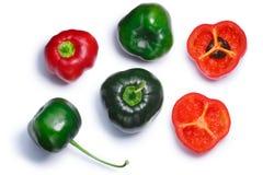 Manzano chiles Rocoto C pubescens, wegen Stock Foto's