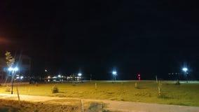 Manzara view moon. Manzara view  water moon Stock Photos
