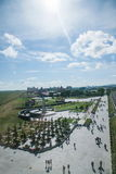 Manzhouli scenic country Royalty Free Stock Photo