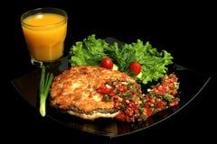 Manzo con salsa Immagine Stock