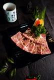 Manzo A5 del giapponese di Wagyu Fotografia Stock