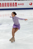 Mao Asada, Japanese figure skater Stock Images