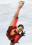 Mao ASADA (JPN) performs free program Stock Image