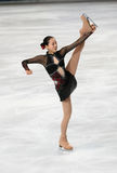 Mao ASADA (JPN) short program Royalty Free Stock Photos