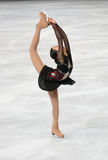 Mao ASADA (JPN) short program Stock Photography