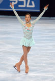Mao ASADA (JPN) short skate Royalty Free Stock Image