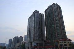 Mao hotel. Sunrise street of changsha city, china Royalty Free Stock Photography
