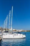 Mao Port von Mahon in Menorca in Baleareninseln Lizenzfreie Stockbilder