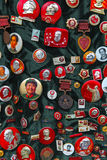 Mao's badges Royalty Free Stock Images