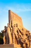 Mao's Mausoleum monument Stock Photos