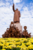 Mao 's statue Royalty Free Stock Images