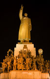 Mao Statue Heroes Zhongshan Square Shenyang China stock images