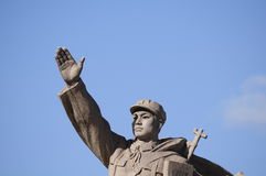 Mao Tse-Tung leads the way Stock Photo