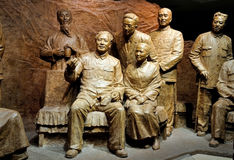 Mao Tse-tung Statue Stock Images