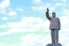 Mao Tse tung Statue Stock Photo