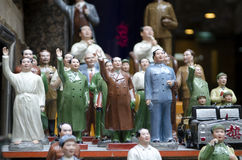 Mao Tse Tung statues Stock Images