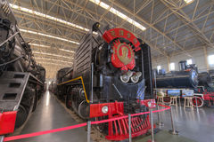 Mao zedong locomotive Stock Photography