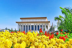 Mao Zedong mausoleum on Tiananmen Square- the third largest squa Royalty Free Stock Photos