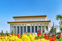 Mao Zedong mausoleum on Tiananmen Square- the third largest squa Royalty Free Stock Photography