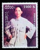 Mao Zedong Postage Stamp fotos de archivo