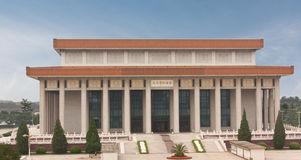 Mao Zedong's Memorial Hall in the center of Tiananmen Square, Royalty Free Stock Photos