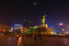 Mao Zedong statue Royalty Free Stock Image