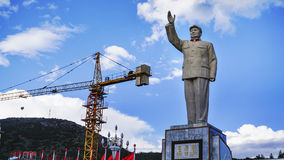 Mao Zedong statue Royalty Free Stock Photos