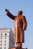 Mao Zedong Statue Royalty Free Stock Photography
