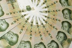 Mao Zedong von einer Banknote II. Lizenzfreie Stockfotografie