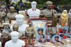 Mao- Zedongstatue, touristische Andenken, Porzellan Lizenzfreies Stockfoto