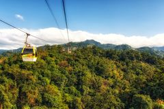 Maokong gondola Taipei Tajwan fotografia royalty free