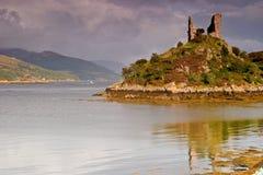 maol kyleakin замока стоковое изображение rf